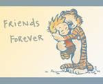 Calvin and Hobbes- Hug