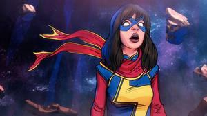 Ms. Marvel Mesmerized