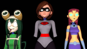Collared Heroines