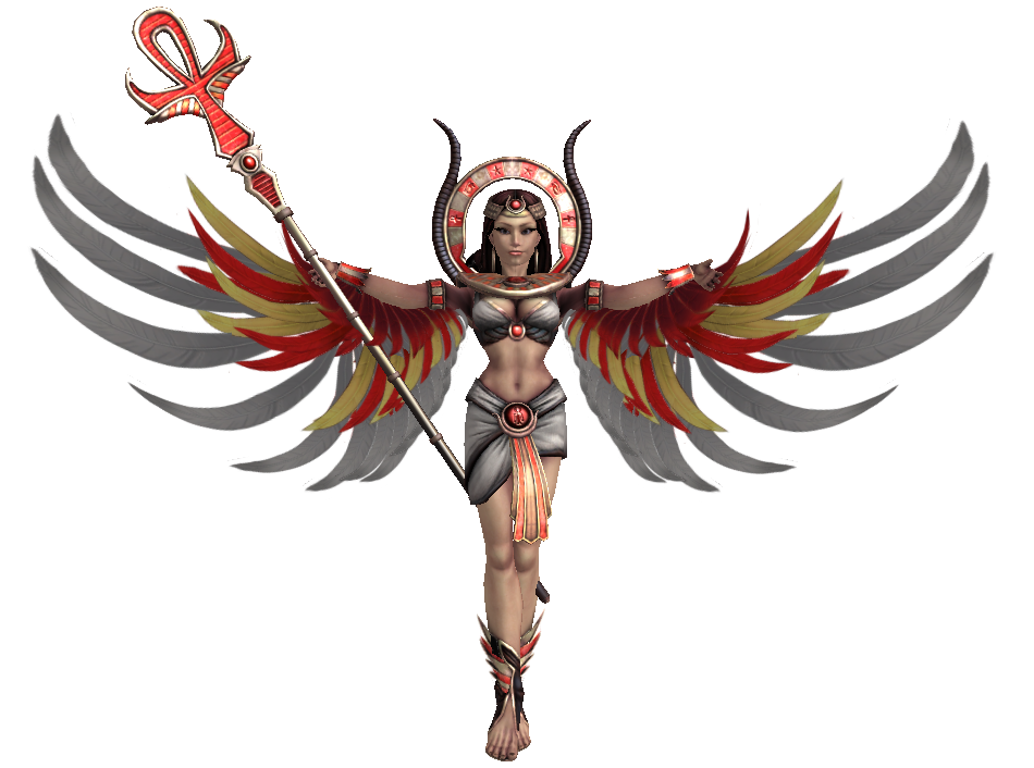 Smite Renders Isis Primary By Kaiology On Deviantart