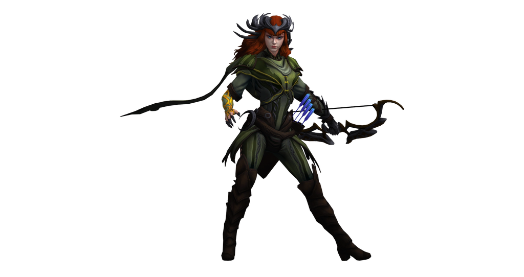 smite renders artemis secondary by kaiology on deviantart