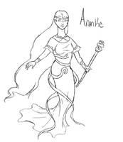SMITE - Ananke, Goddess of Necessity by Kaiology