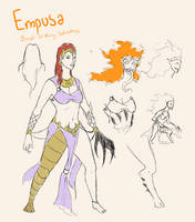SMITE - Empusa, Blood-Drinking Seductress by Kaiology