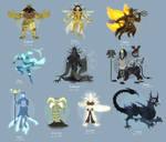 Smite Concept - Mesopotamian Gods