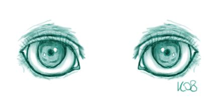 Eyes by GloomyKat