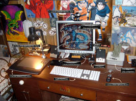 My workspace by Zeezy
