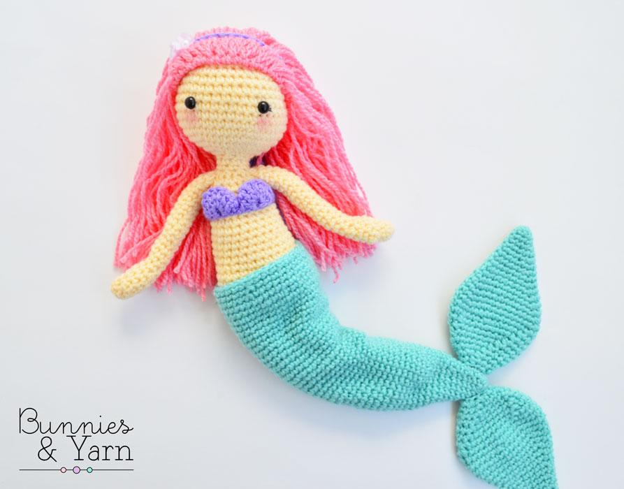 10 Crochet Amigurumi Mermaid Doll Patterns Free and Paid   700x893