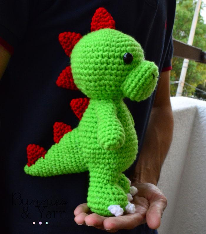 Crochet Amigurumi Dinosaur Free Patterns - Cool Creativities | 792x700