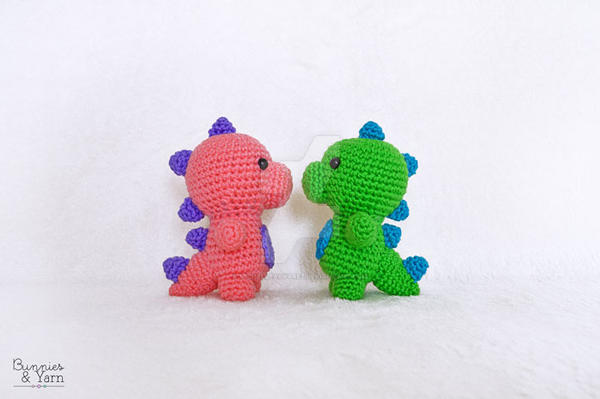 CROCHET PATTERN in English - Dinosaur - Baby #5 - Babies ... | 399x600