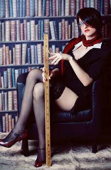 Headmistress Fiora Cosplay: Insolent Persons!