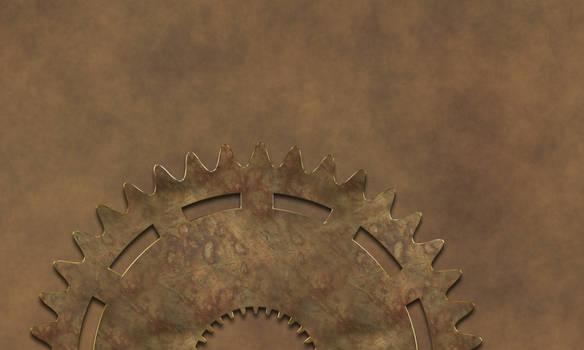 Steampunk Background II
