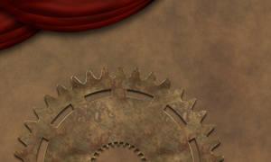 Steampunk Background IIa