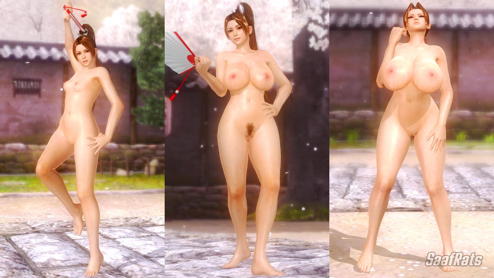 Doa nude skins nackt movie