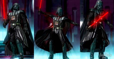 Darth Vader in DOA5LR (WIP) by SaafRats