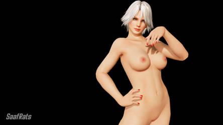 DOA 6 Nude mod: CHRISTIE by SaafRats