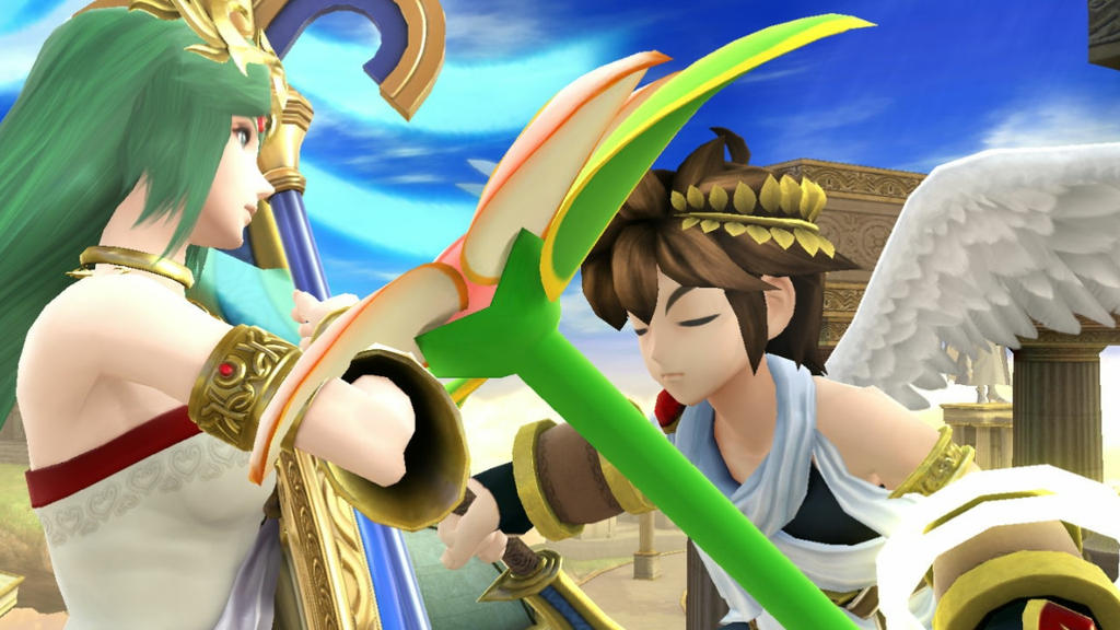 Pit x Palutena: Mother's Day Special by AdmiralPit on ...