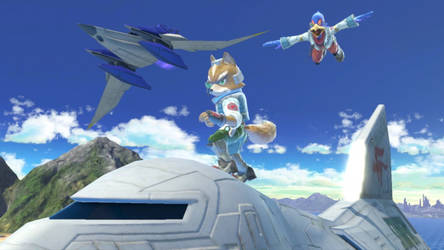 Team Starfox:  To a New Mission by AdmiralPit