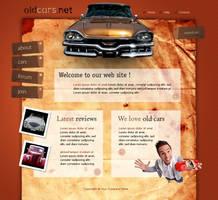 cars layout psd html FREE :4 by 14koles14