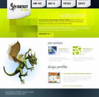 Web layout psd html FREE :14 by 14koles14