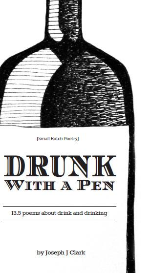 Drunk With A Pen: Cover Art