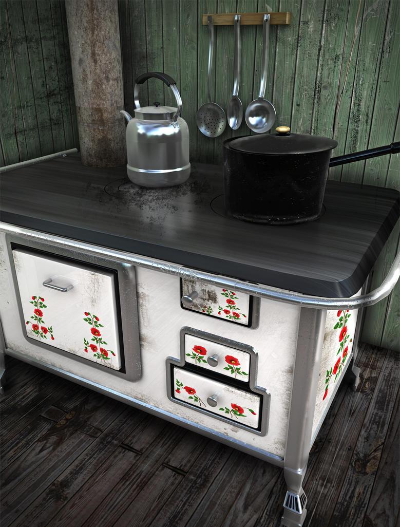 Old Kitchen Old Kitchen By Mimi01 On Deviantart