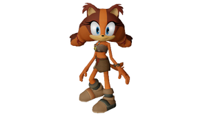 [MMD][Sonic Boom] Sticks the badger