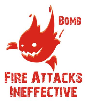 Final Fantasy T-shirt  .Bomb. by KirbywithaMasamune