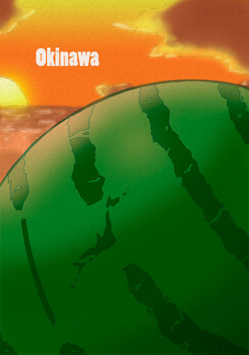 Okinawa by KirbywithaMasamune