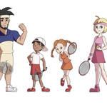 Mario Tennis Cast