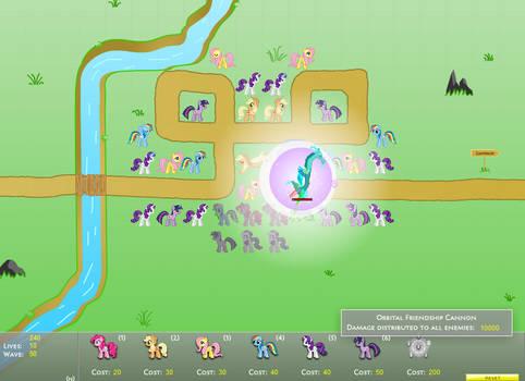 Canterlot Siege 1.6: Perfect Mode - Map 04