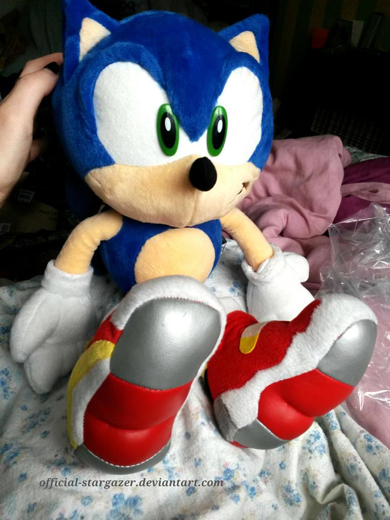 Soap Shoes Sonic Plush For Sale