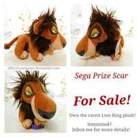 Sega Prize Scar Plush FOR SALE
