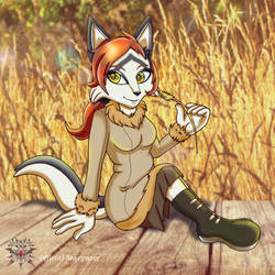:Commission: Fields of gold