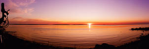 Relaxing sunset V