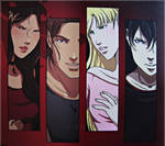 Rose, Dimitri, Lissa and Christian