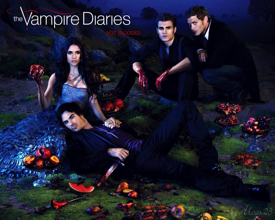 Wallpaper The Vampire Diaries: The Vampire Diaries Wallpaper 04 By Alcas23 On DeviantArt