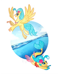 Fins and Feathers by Featherpaw14