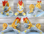 Solar Wave Plushie Commission by Featherpaw14