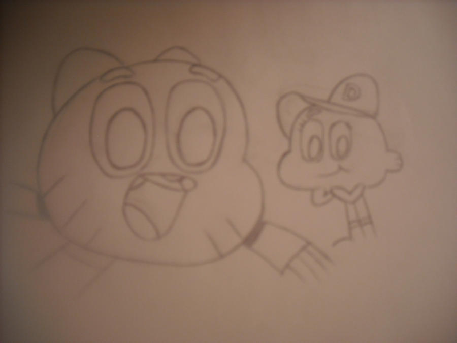 Gumball and darwin by Forwardflung