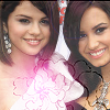 Demi and Selena Icon by Charlott7wer