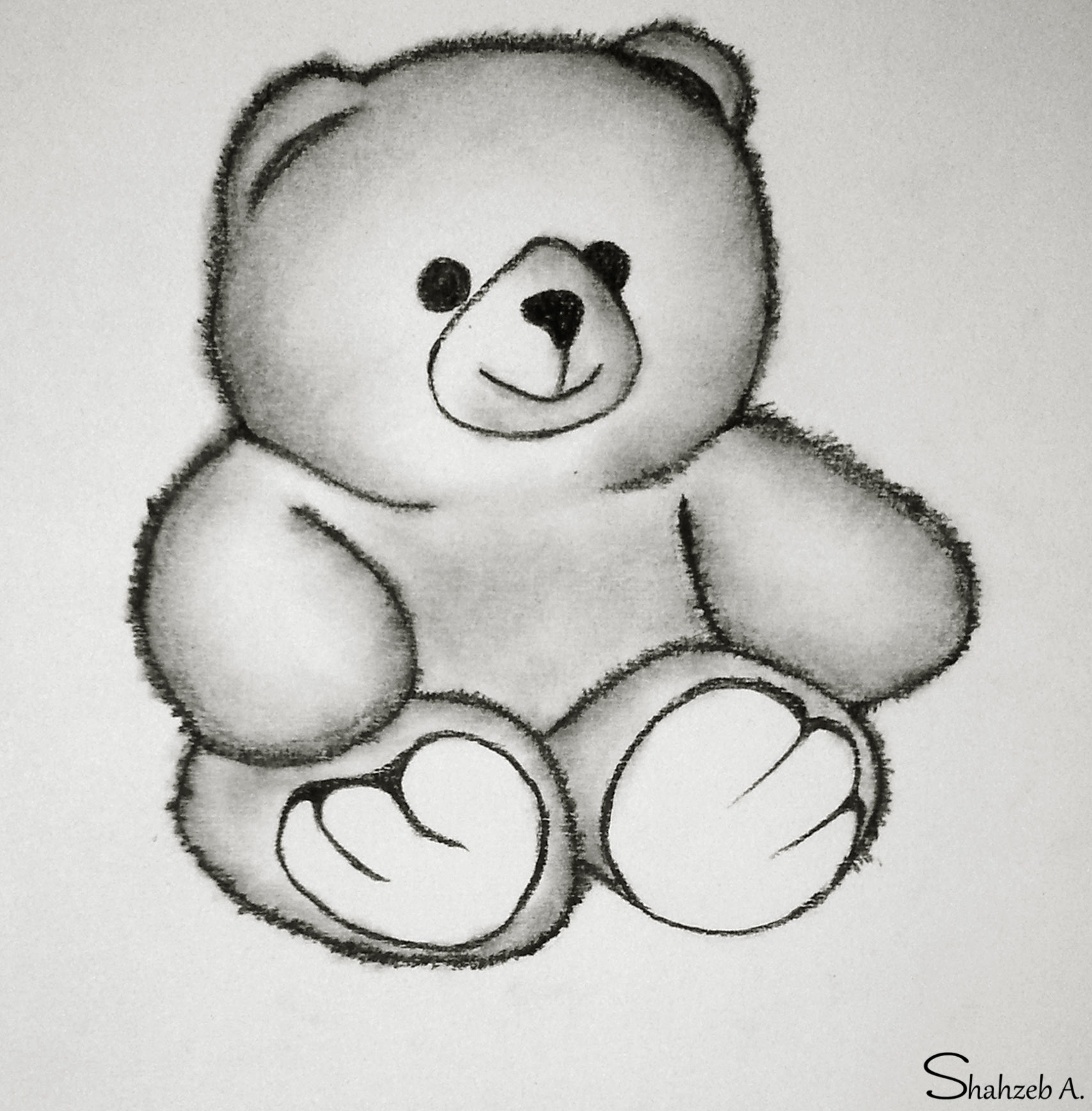 Uncategorized Drawings Of A Teddy Bear adorable teddy bear by shaixey on deviantart shaixey
