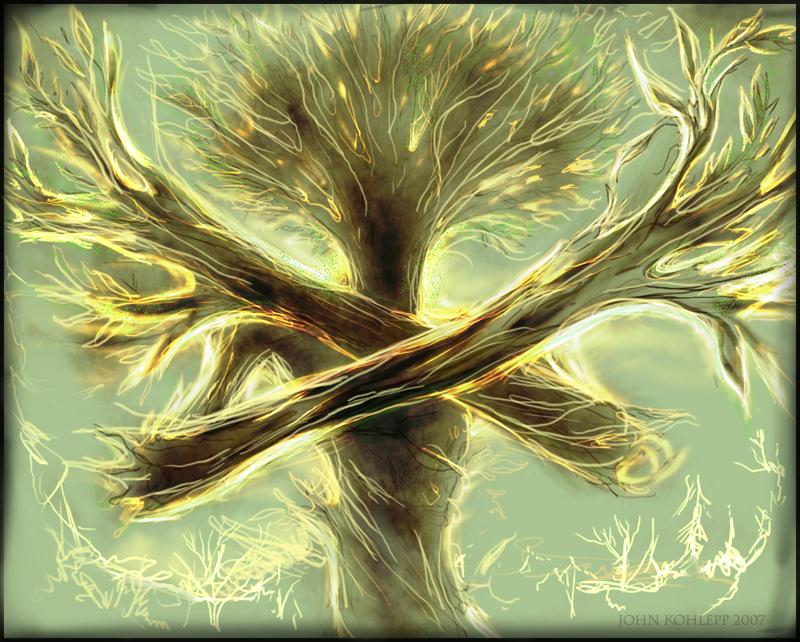 Treeman by Wystro