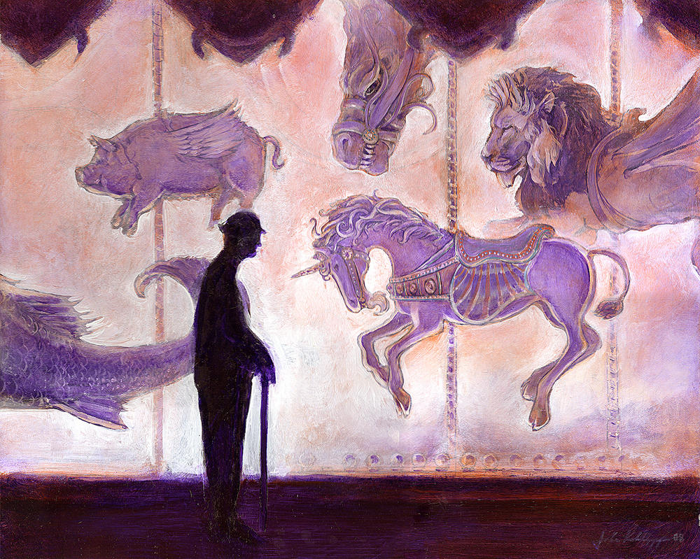Unfinished Carousel by JohnKohlepp
