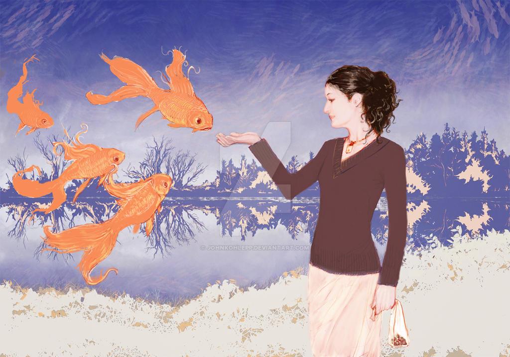 I Dream of Fish by JohnKohlepp