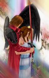Genesis and Aerith by IntenseObservation