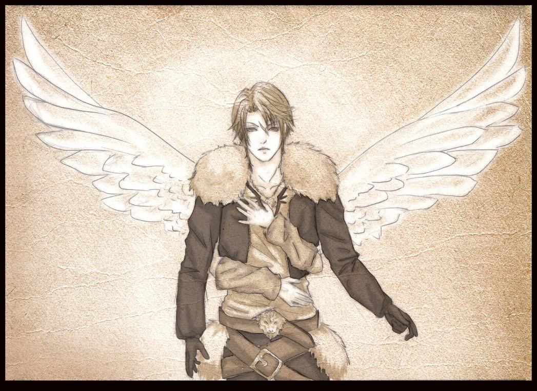 Winged Lion by furesiya