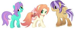 MY little ponies by furesiya