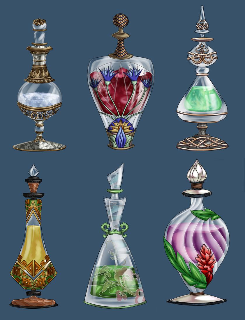 Fantasy Glass Vial