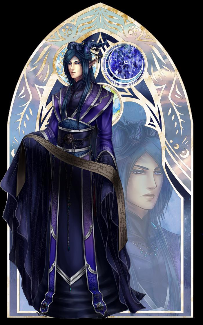 Souls of Chaos: Arlen NPC by furesiya