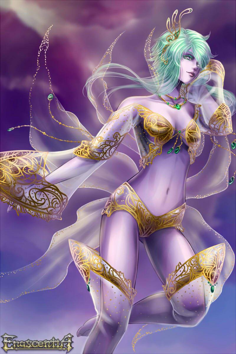 Enascentia: Wispling female by furesiya